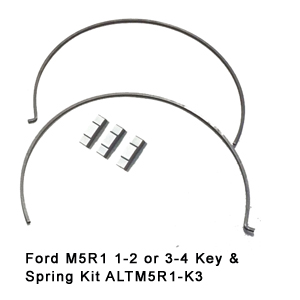 Ford M5R1 1-2 or 3-4 Key & Spring Kit ALTM5R1-K3